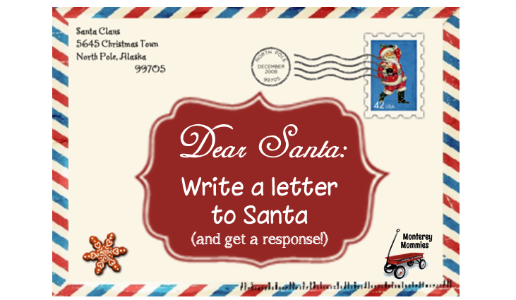 Write to santa and get a letter back