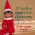 Giveaway: Elf on the Shelf Vinyl Door