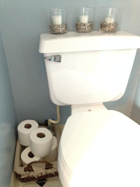 Guest Bath Make-Over: MontereyMommies.com