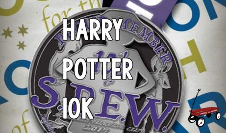 Local 10k Harry Potter Run {Hogwarts Running Club}