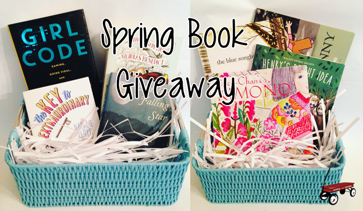 Spring Book Giveaway Monterey Mommies